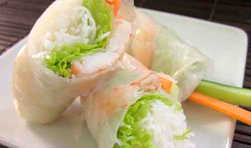 Picture of rice wrap