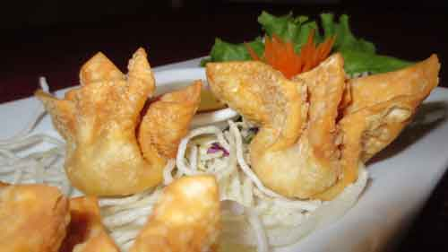 Picture of Deep Fried Wonton appetizer